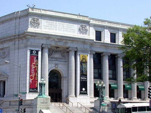 Postal Museum exterior.