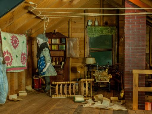Nutshell Studies - attic