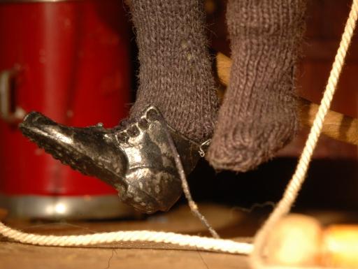 detail shoe