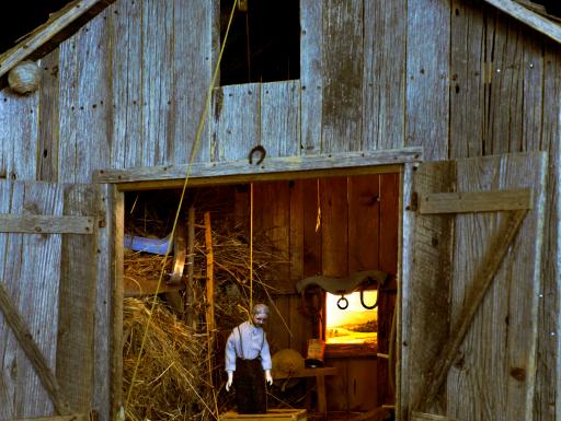 Nutshell Studies - barn