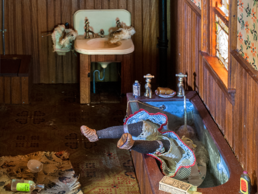 Nutshell Studies - bathroom