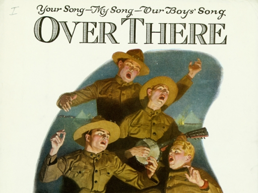 Over There sheet music cover
