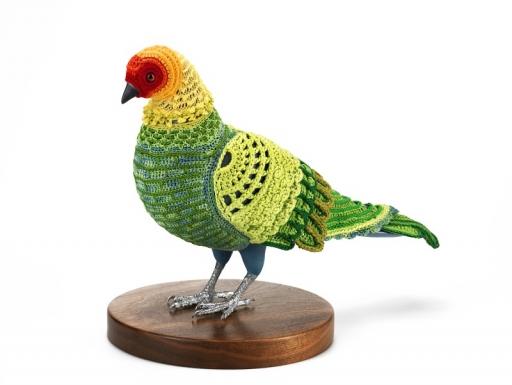 crochet parakeet.