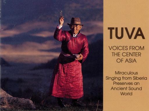Tuva CD cover
