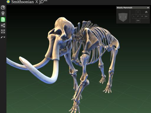 Smithsonian X 3D Website