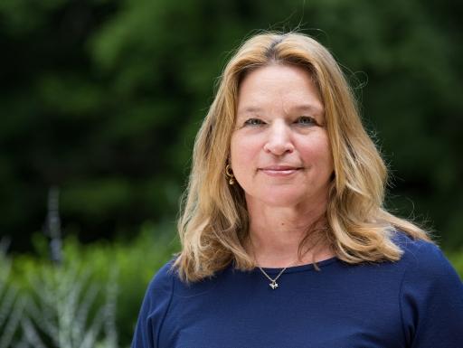 Ellen Stofan in an outdoor setting