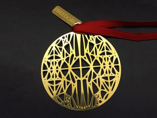 ornament with signature design