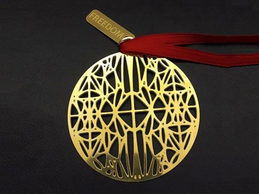 ornament with signature design