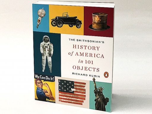 History of America in 100 Objects book cover