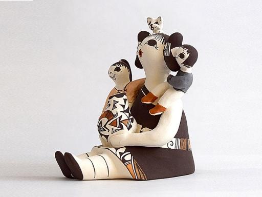 ceramic storyteller
