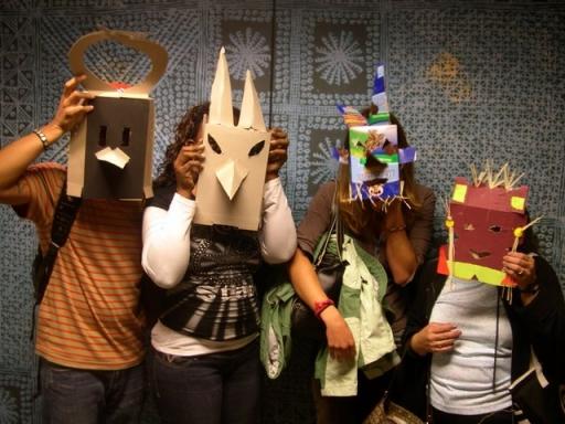Teachers with masks