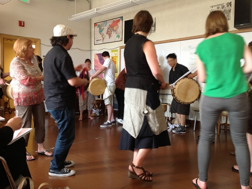 Educator class for teaching about music.