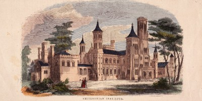 1855 illustration of the Castle