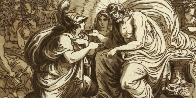 Minerva Asking Jupiter for the Happiness of Ulysses or Minerva Questions Jupiter on the Destiny of Ithaca