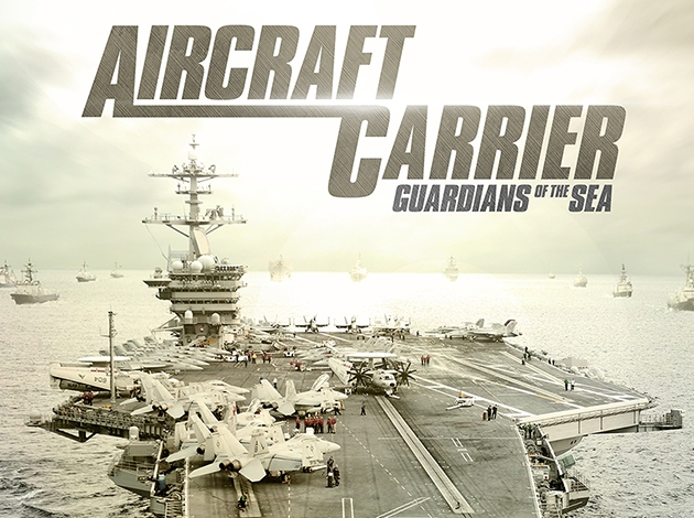 Aircraft Carrier Guardians of the Sea 3D Image