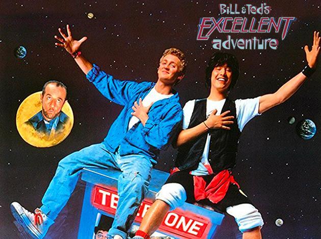 Bill & Teds Excellent Adventure image