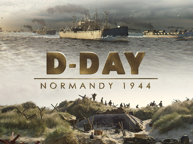 D-Day: Normandy 1944 3D Image