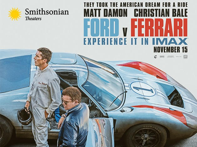 Ford v Ferrari Poster