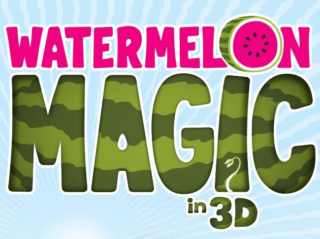 Watermelon Magic 3D Poster