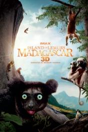 Island of Lemurs: Madagascar 3D Poster