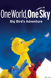 One World, One Sky: Big Bird's Adventure Poster