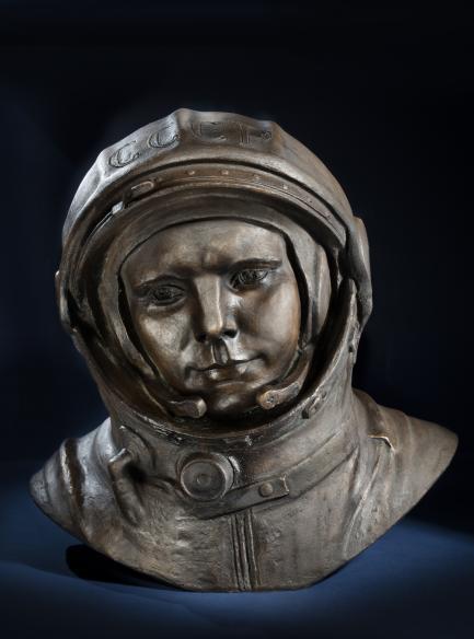 Bust of Yuri Alekseyevich Gagarin