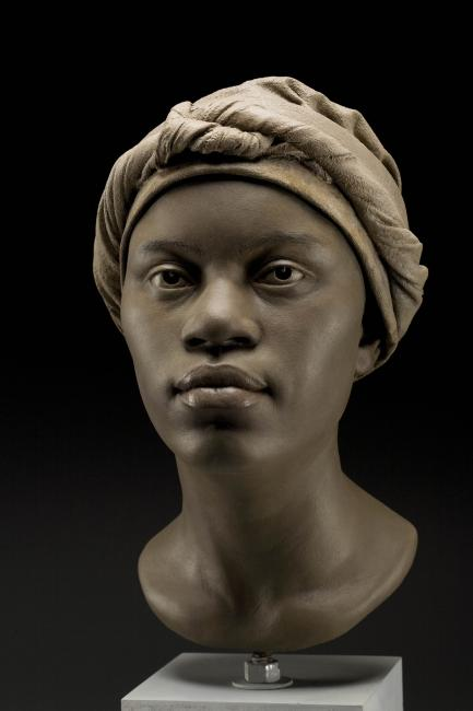 Reconstruction of young African woman