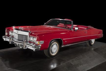 red Cadillac