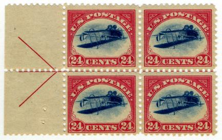 24c Curtiss Jenny stamp