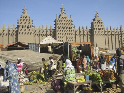 Restored Djenné Mosque