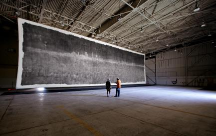The Great Picture pinhole hangar