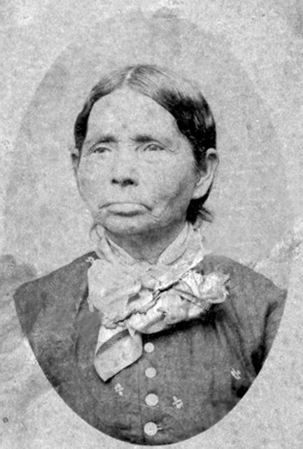 daguerreotype of Indian woman