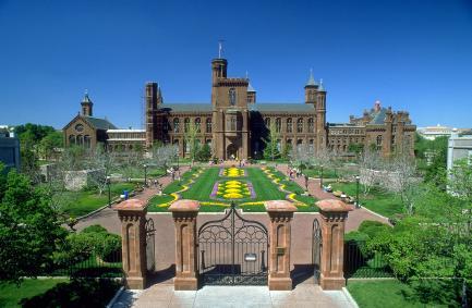 Smithsonian Castle and Haupt Garden