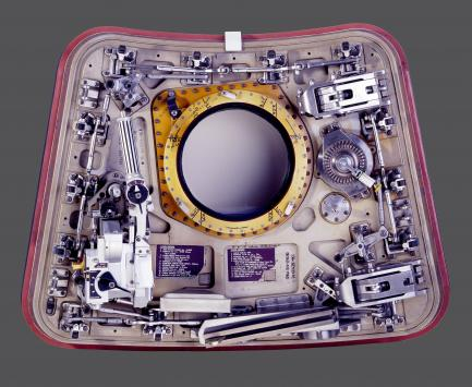 Overhead view of hatch