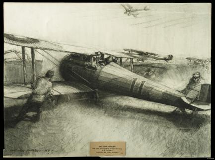 Sketch of WWI AIrcraft