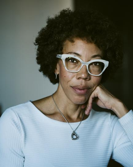Portrait of artist Amy Sherald