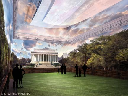 Renwick Grand Salon - Lincoln Memorial