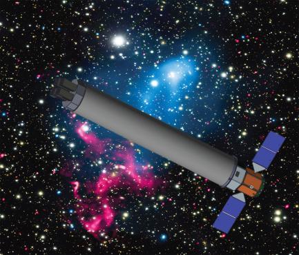 artists rendering of telescope
