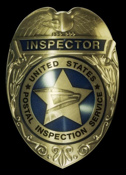 U.S. Postal Inspection Service badge
