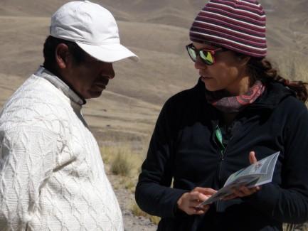 Camilla Martinez with colleague