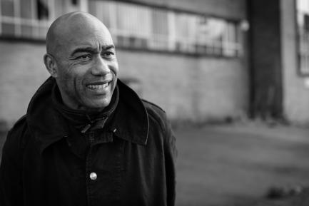 Black and white portrait of Casely-Hayford