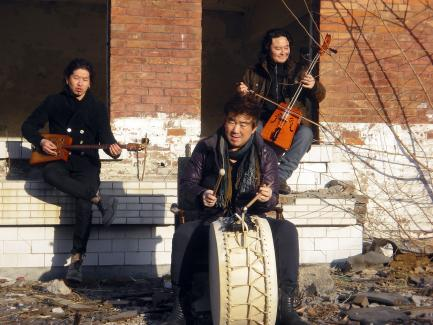 Mongolian music ensemble
