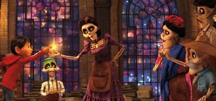 Still from movie Coco