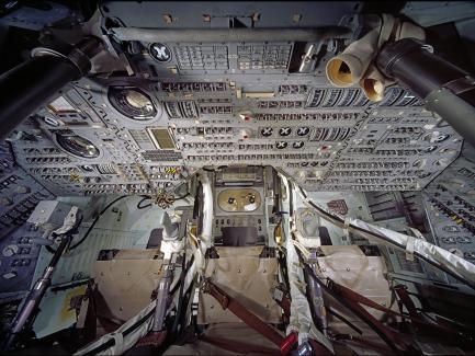 Command module interior