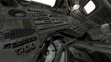 view of module's console