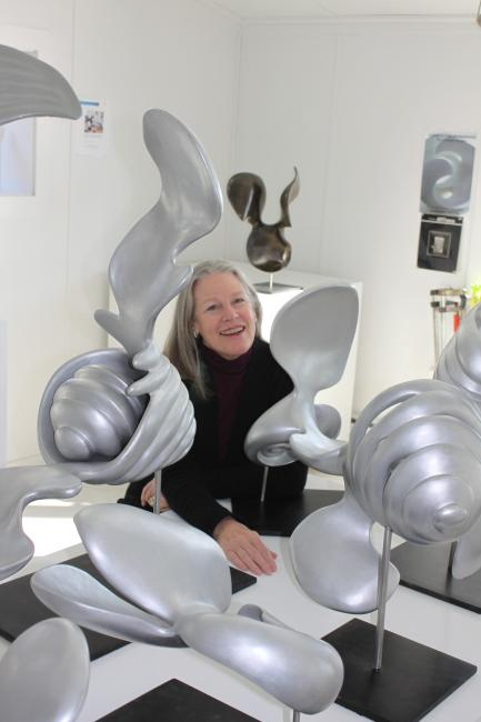 Artist Cornelia Kubler Kavanagh