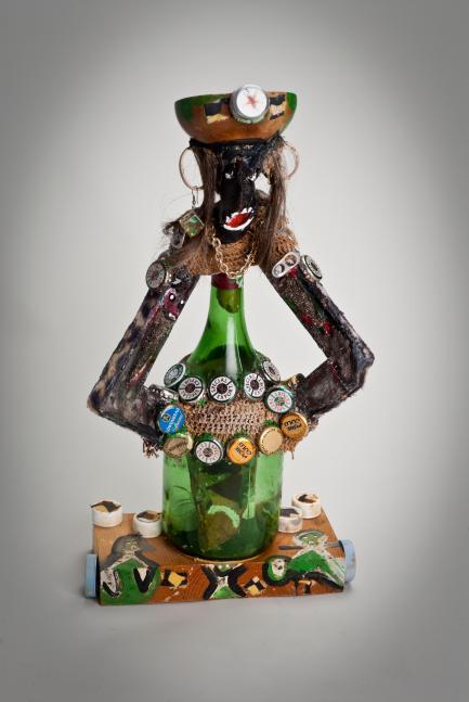 multimedia sculpture