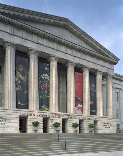 Exterior of the Donald W. Reynolds Center for American Art and Portraiture 2