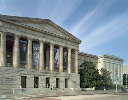 Exterior of the Donald W. Reynolds Center for American Art and Portraiture 1