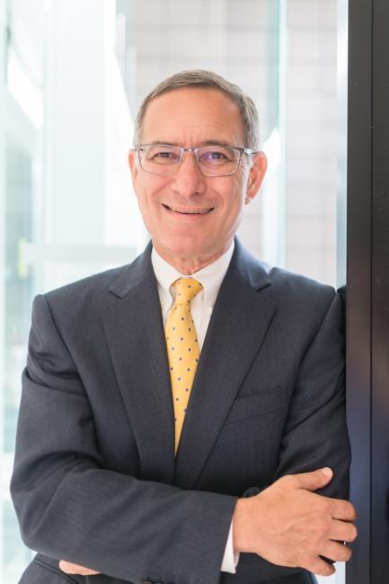 Portrait of Elliot Gruber